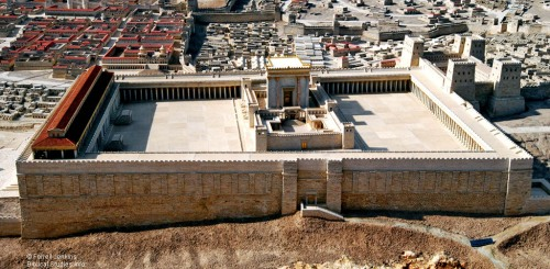 The Second Temple Model. Photo by Ferrell Jenkins 2009.
