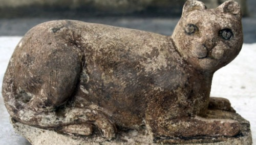 Bastet. Discovered at Alexandria. AP photo.