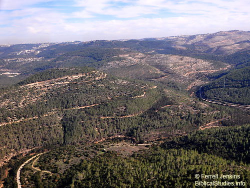 Judean Mountains SW of Jerusalem. Photo by Ferrell Jenkins.