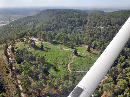 Aerial view of Zorah. Photo by Ferrell Jenkins.