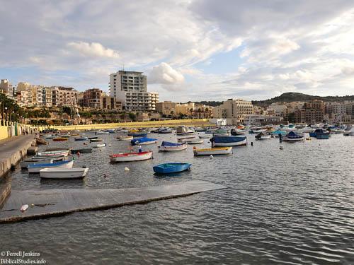 St. Paul's Harbor at Malta. Photo by Ferrell Jenkins.