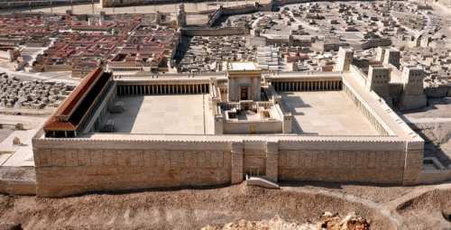 Second Temple Model at the Israel Museum. Photo by Ferrell Jenkins.