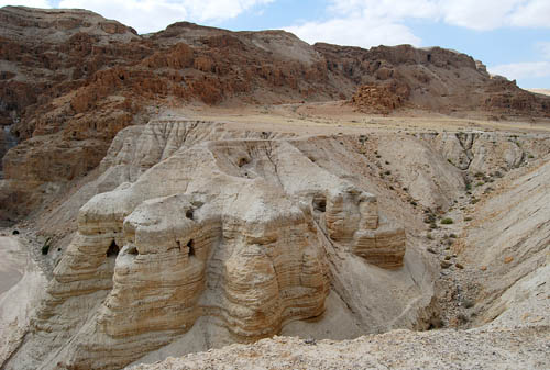 Qumran Cave 4. Photo by Ferrell Jenkins.