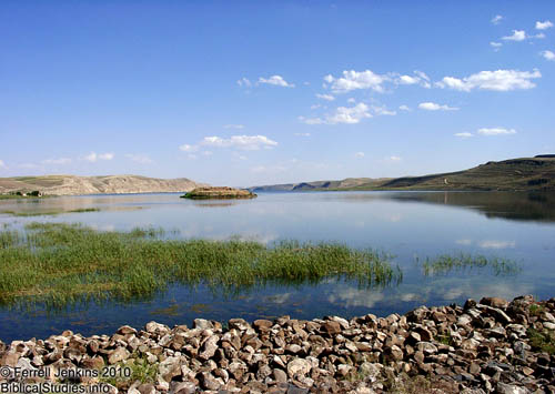 The Euphrates River in northern Syria. Photo by Ferrell Jenkins.