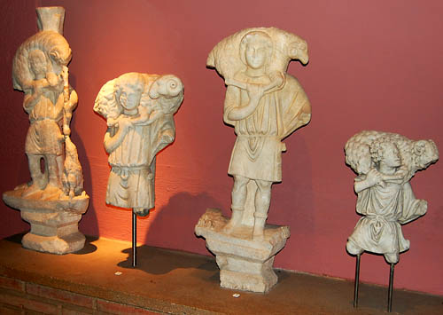 Good shepherd statues. Istanbul Archaeological Museum. Photo by Ferrell Jenkins.