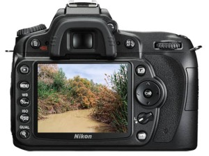 Nikon D90. Photo of the Jordan River by Ferrell Jenkins.