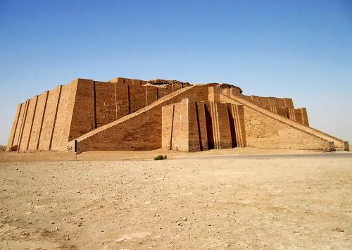 Ziggurat at Ur in Iraq. Photo by Josh McFall.