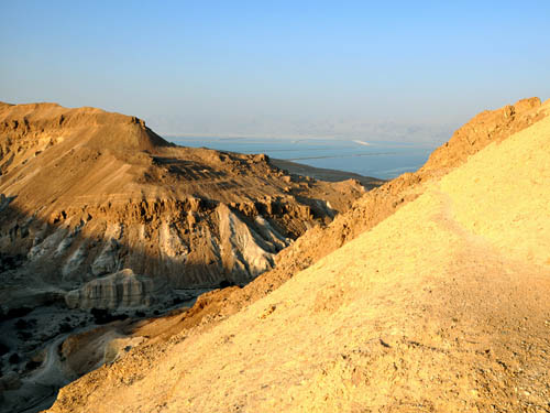 The Dead Sea from the Sodom-Arad Road