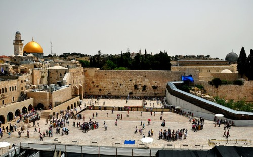 Western Wall Plaza. Photo by Ferrell Jenkins.