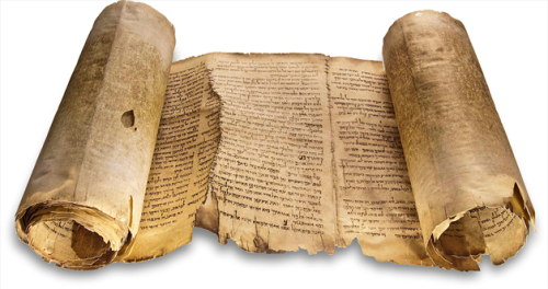 Facsimile of the Dead Sea Isaiah. National Libary via Bloomberg.com.