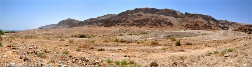 Qumran Panorama by Ferrell Jenkins.