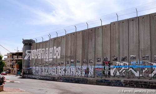 The Wall as seen in Bethlehem. Photo by Ferrell Jenkins.
