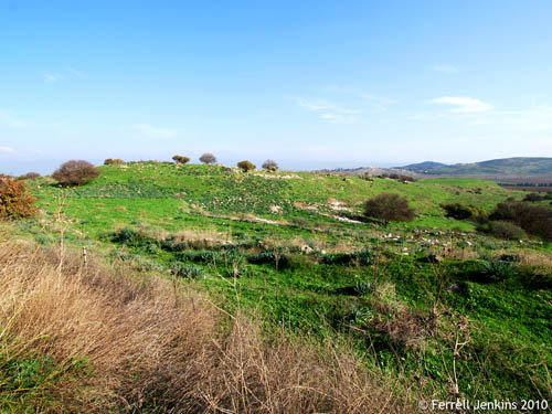 Tel Kedesh in northern Galilee. Photo by Ferrell Jenkins.