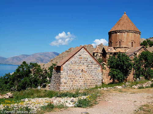 Armenian Church on Akdamar Island in Lake Van. Photo by Ferrell Jenkins.