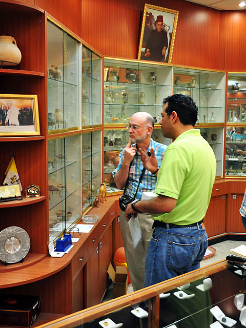 Kando's Antiquities Shop in Bethlehem. Photo by Ferrell Jenkins.