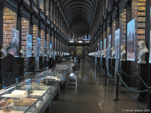 The Long Room of Trinity College Library