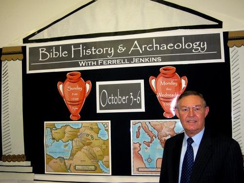 Ferrell Jenkins at Kleinwood Church of Christ.
