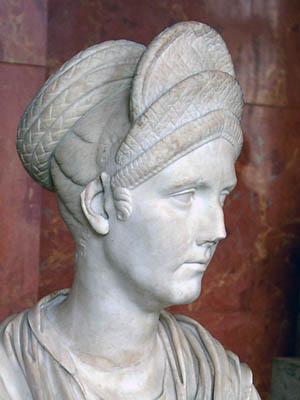 Trajan's neice. The Louvre. Photo by Ferrell Jenkins.