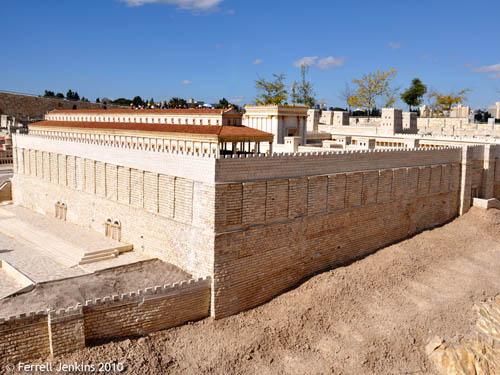 Second Temple Model, Jerusalem. Photo by Ferrell Jenkins.