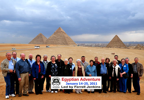 Egyptian Adventure Tour led by Ferrell Jenkins