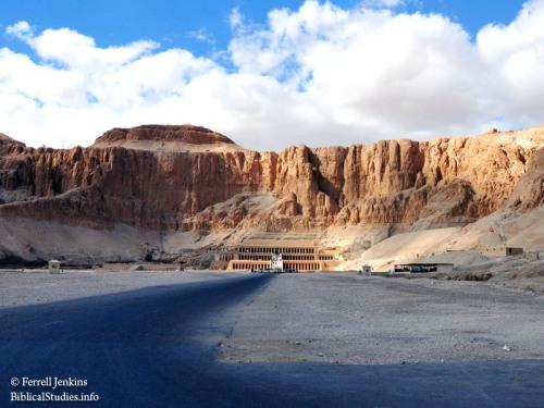 Temple of Queen Hatshepsut. Photo by Ferrell Jenkins.