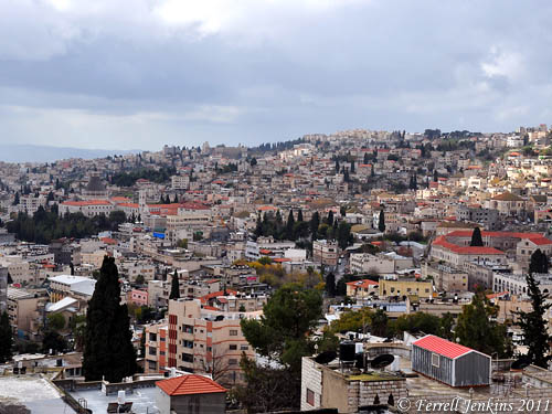 View of Nazareth. Photo by Ferrell Jenkins.