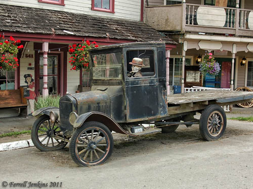 An old truck at Wilkeson, Washington. Photo by Ferrell Jenkins.