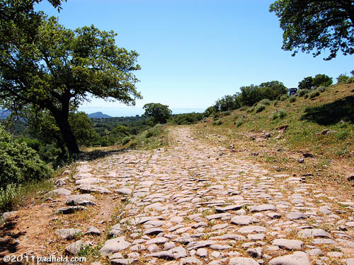 Roman Road near Assos. Photo by David Padfield.
