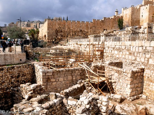 Jerusalem Ophel Excavations. Photo by Ferrell Jenkins.