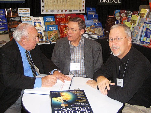 Anson Rainey, Ferrell Jenkins, and Stephen Notley at SBL, 2006.