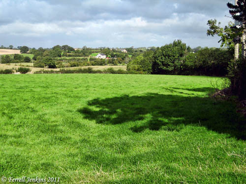 Farm land near Ahorey Church, near Rich Hill, N. Ireland. Photo by Ferrell Jenkins.