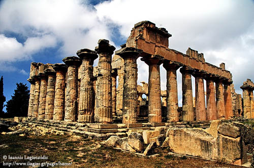 Temple of Zeus at Cyrene, Libya. Photo by Ioannis Logiotatidis.
