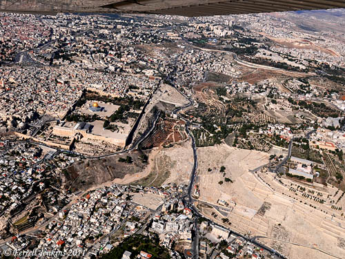 Jerusalem - the Old City and the Mount of Olives. Photo by Ferrell Jenkins.