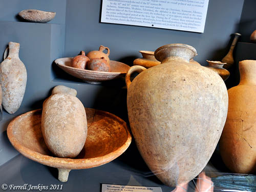 MB2 Pottery from Jericho. Vatican Museum. Photo by Ferrell Jenkins.