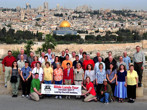 Bible Land Tour of Israel Group Led by Ferrell Jenkins.
