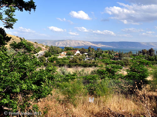 Tabgha on the NW corner of Sea of Galilee. Photo by Ferrell Jenkins.