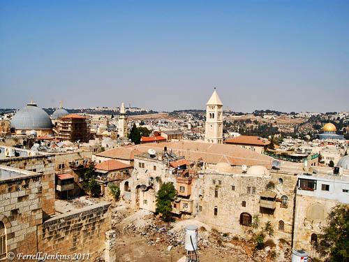 Hezekiah's Pool in the Christian Quarter of Jerusalem. Photo by Ferrell Jenkins.