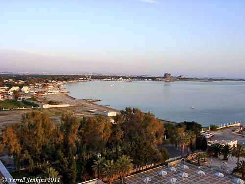 Harbor north of Latakia, Syria. Photo by Ferrell Jenkins.
