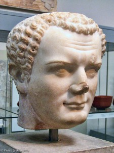 Titus, Roman commander at the time of the destruction of Jerusalem, was later Emperor (A.D. 79-81). Bust in British Museum. Photo by Ferrell Jenkins.