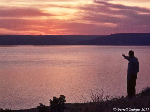 Sunrise at the Sea of Galilee. May 4, 1968.