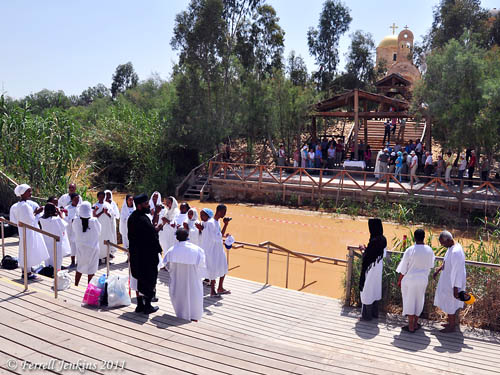 Jordan River Baptismal Site. Photo by Ferrell Jenkins.