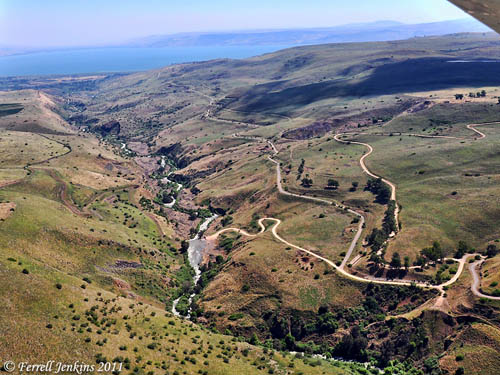 Jordan Valley north of the Sea of Galilee. Photo by Ferrell Jenkins.