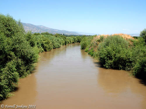Meander River near Aphrodisias, Turkey. Photo by Ferrell Jenkins.