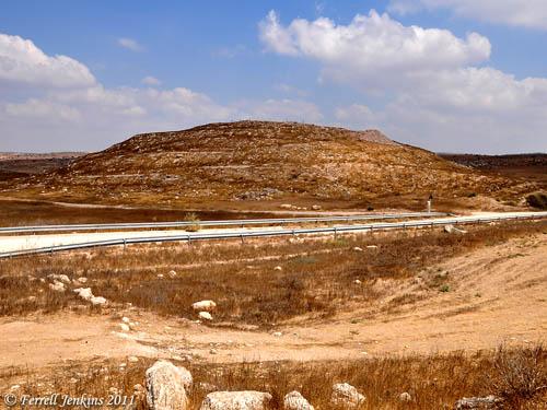 Tel Eiton (Tel Aitun), possibly biblical Eglon.