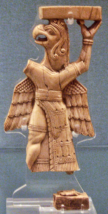 Urartian Ivory. British Museum.