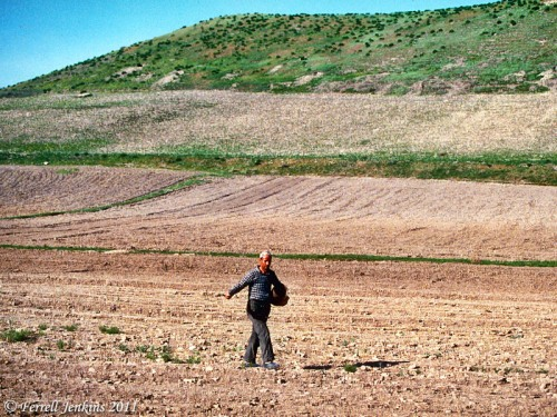 Sower at Lystra. Photo by Ferrell Jenkins.