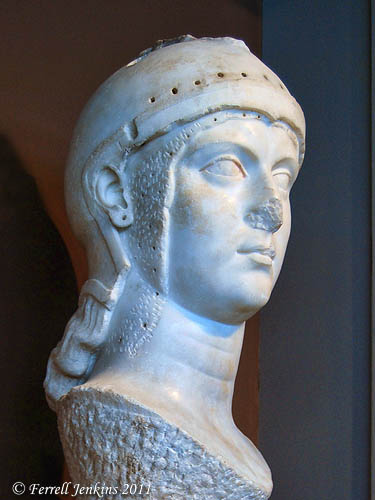 Athena. Archaeology Museum of Thesaloniki, Greece. Photo by Ferrell Jenkins.