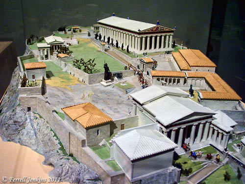 Athens - Acropolis - ROM, Toronto.