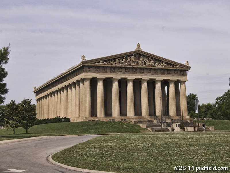 The Parthenon — in Athens, Greece, and in Athens of the South (1/2)
