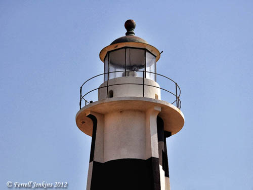 The Akko Crusader lighthouse. Photo by Ferrell Jenkins.